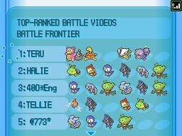 Images de Pokémon Version Platine