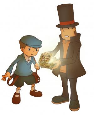 E3 2009 : Images de Professeur Layton et la Boîte de Pandore