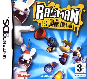 Rayman contre les Lapins Crétins sur DS