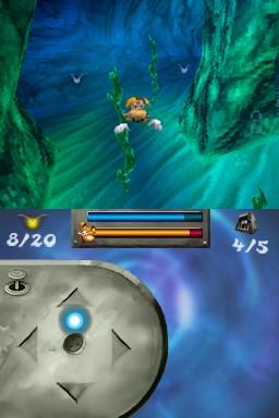 Rayman bondit sur Nintendo DS