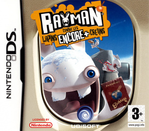 Rayman contre les Lapins encore plus Crétins sur DS