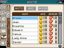 Images françaises de Rune Factory : A Fantasy Harvest Moon