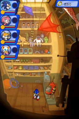 Premières images de Sonic Chronicles sur DS