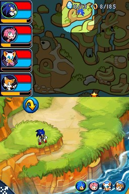 Images de Sonic Chronicles