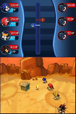 E3 2008 : Images de Sonic Chronicles