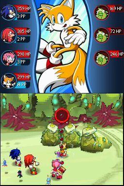 GC 2008 : Images de Sonic Chronicles