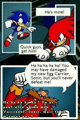 Sonic Chronicles : La Confrerie des Tenebres