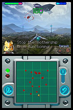 E3 : StarFox décolle sur DS