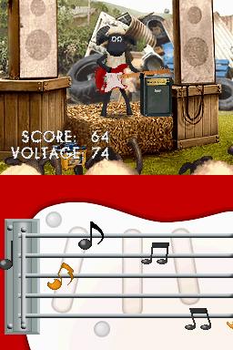 Shaun le mouton adapté sur DS