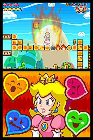 Images : Super Princess Peach, drame et aventure