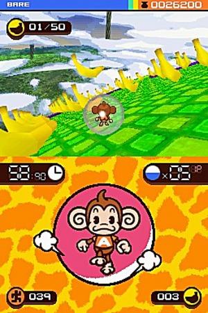 Super Monkey Ball se montre sur DS