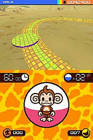 Images : Super Monkey Ball roule sur DS