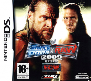 WWE Smackdown vs Raw 2009 sur DS
