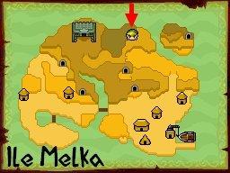 Coffre caché sur l'ile Melka