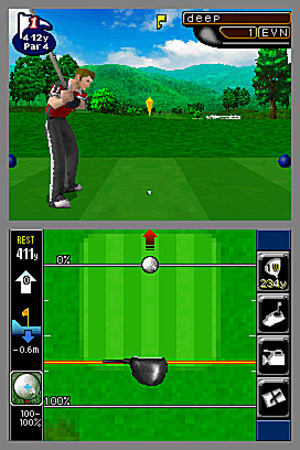 Nintendo Touch Golf Birdie Challenge