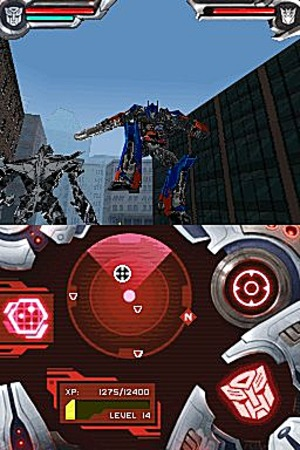 The Transformers et beaucoup de tôle froissée
