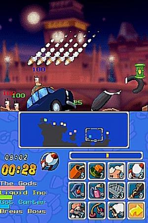 Worms sur DS : pas d'bras mais des chocs, holà !