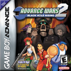Advance Wars 2 : Black Hole Rising sur GBA