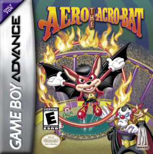 Aero the Acro-Bat sur GBA