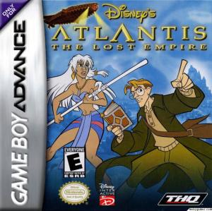 Atlantide : L'Empire Perdu sur GBA