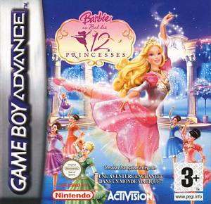 Barbie au Bal des 12 Princesses sur GBA