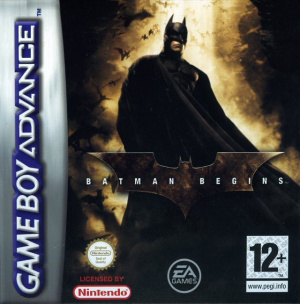 Batman Begins sur GBA