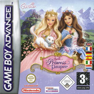 Barbie as the Princess and the Pauper sur GBA