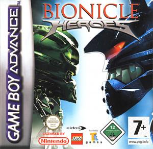 Bionicle Heroes sur GBA