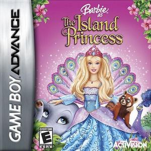 Barbie Princesse de l'Ile Merveilleuse sur GBA