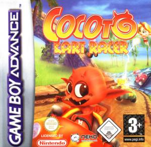Cocoto Kart Racer sur GBA