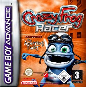 Crazy Frog Racer sur GBA