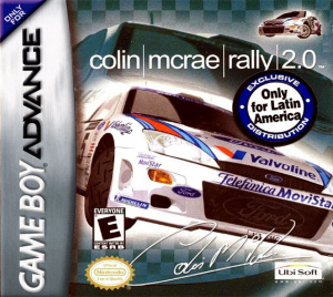Colin McRae Rally 2 sur GBA