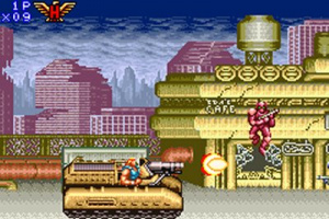 Contra Advance - Gameboy Advance