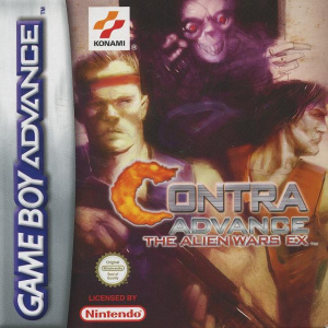 Contra Advance : The Alien Wars EX sur GBA