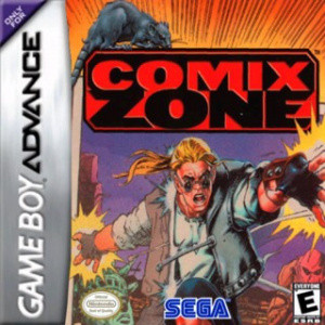 Comix Zone sur GBA