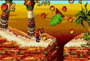Crash Bandicoot 2 : N-Tranced / GBA