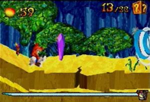 Crash Bandicoot : Fusion / GBA