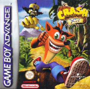 Crash Bandicoot XS sur GBA