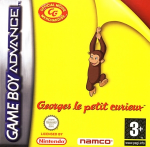 Georges le Petit Curieux sur GBA