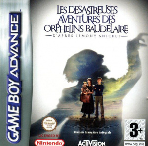 Les Désastreuses Aventures des Orphelins Baudelaire sur GBA