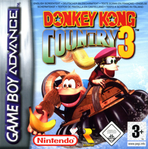 Donkey Kong Country 3 sur GBA