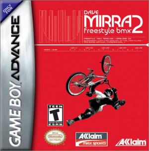 Dave Mirra Freestyle BMX 2 sur GBA