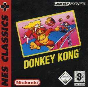 Donkey Kong sur GBA