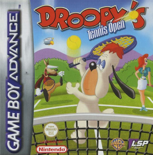 Droopy's Tennis Open sur GBA
