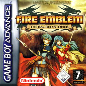 Fire Emblem : The Sacred Stones sur GBA