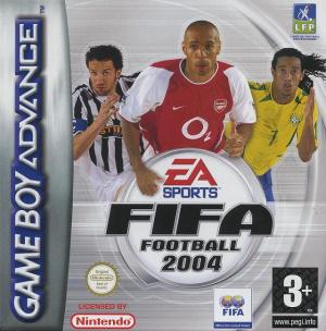 FIFA Football 2004 sur GBA