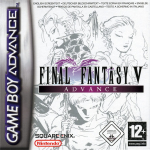 Final Fantasy V Advance sur GBA