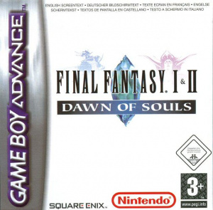 Final Fantasy I & II : Dawn of Souls sur GBA