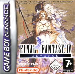 Final Fantasy IV Advance sur GBA