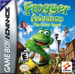 Frogger Advance : The Great Quest sur GBA